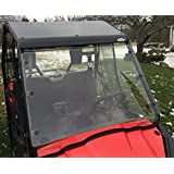 2017 Honda Pioneer 500 Hard Coat Windshield with Fast Straps by EMP 13081