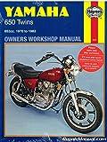 H341 Haynes Yamaha XS TX 650 1970-1983 Motorcycle Owners Workshop Manual