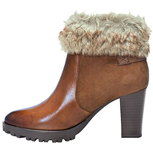 Meredith Womens Ankle 310 Comb Lea Boots Caprice Cognac 8q5RwdEx