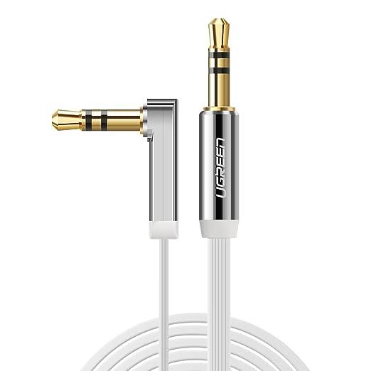 508 opinioni per UGREEN Cavo Audio Stereo Jack 3.5mm Maschio a Maschio 90 Gradi, Cable Audio Cavo
