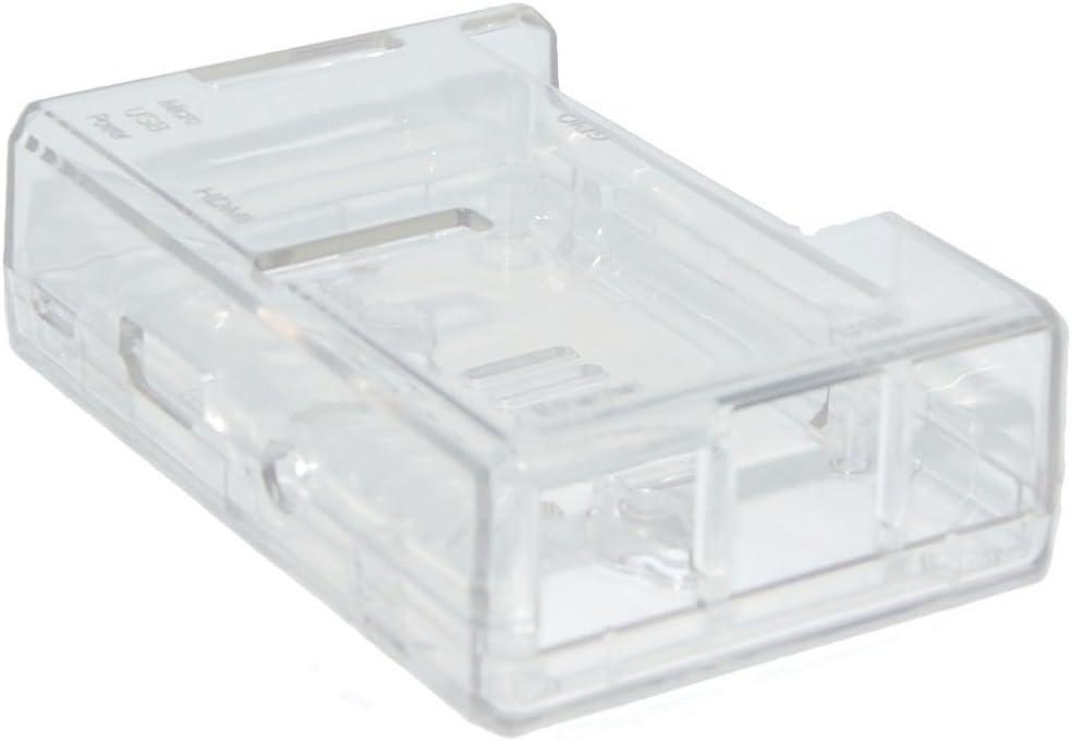 SODIAL Caja clara para Raspberry Pi 3 Modelo B Cuatro nucleos / Pi 2 Modelo B / Pi Modelo B + Cajas: Amazon.es: Electrónica