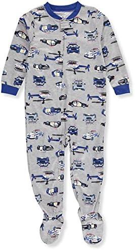 Carters Baby Boys 12M-4T Police Cars One Piece Pajamas