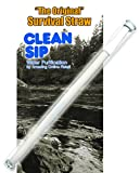 AOR Power® Survival Water Filter Straw - Smallest Personal Water Filter Straw! Water Filter Travel Straw - Portable Water Filter Straw. Removes Germs, Viruses, Heavy Metals