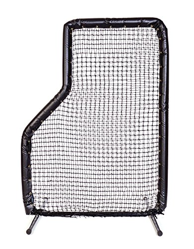 Armor 7x5 JR Baseball Pitching L-Screen with BLACK Padding by Armor