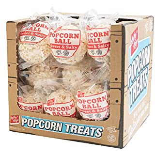 Kathy Kaye Popcorn Ball Everyday, Sweet N' Salty, 1.00 Ounce (Pack of 24)