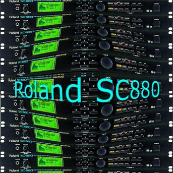 ROLAND SC880 – THE very Best of – Original Sound Library in WAVEs format on CD