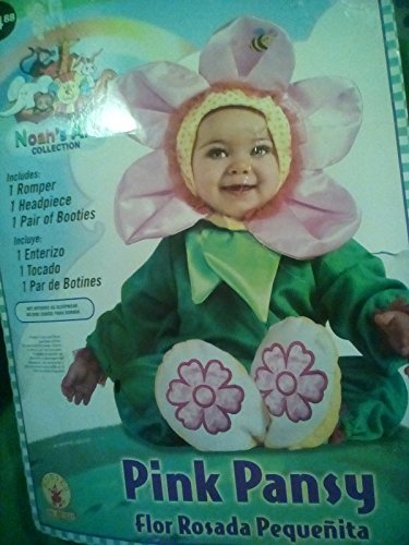 Rubie's Costume Co Pansy Costume, 0.6 Months, Pink -