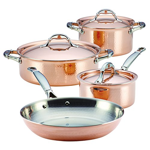 Ruffoni Symphonia Cupra 7-Piece Cookware Set, Copper by Ruffoni