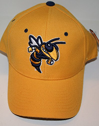Georgia Tech GT Yellow Jackets DHS Yellow Boys/Youth/Child Fitted Baseball Hat/Cap Size 7