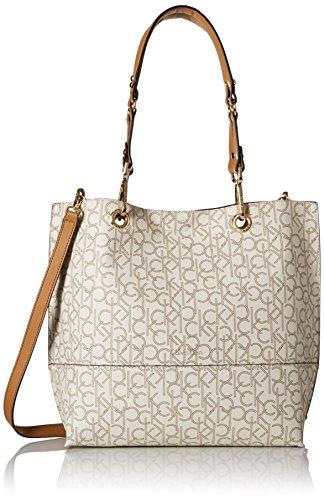 f0ebc9e9deb Calvin Klein Sonoma Monogram Tote: Amazon.co.uk: Shoes & Bags