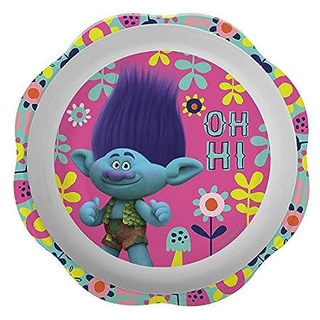3 Piece-Set, Zak Designs PRXO-0391-H Disney Princess Plate Bowl /& Tumbler