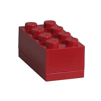 Lego Storage by Room Copenhagen - 40120630 LEGO 8-Brick Lunch Box, Mini, Bright Red: Room Copenhagen: Kitchen & Dining