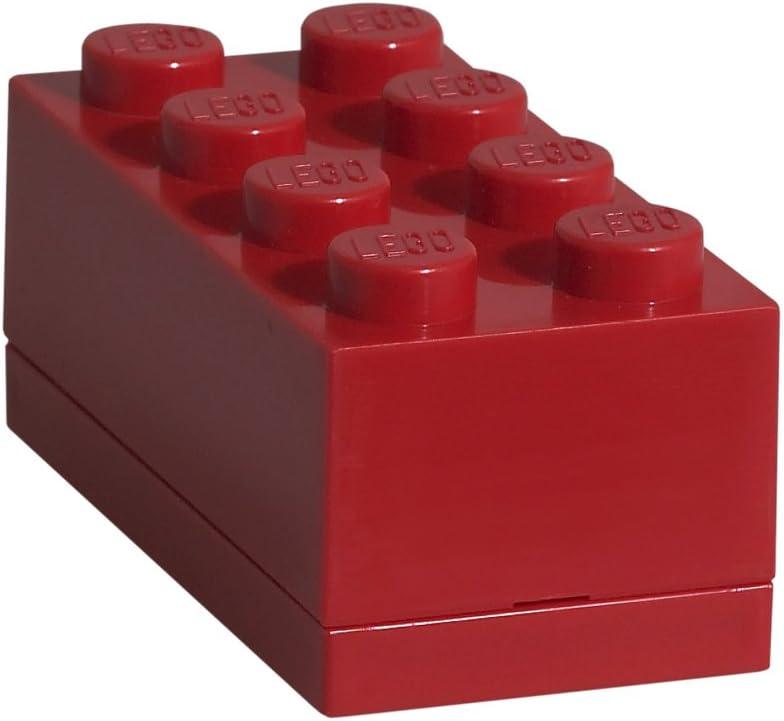LEGO Mini Box Brick 8 and PVC Free Snack Storage Room Copenhagen Black Phthalate BPA