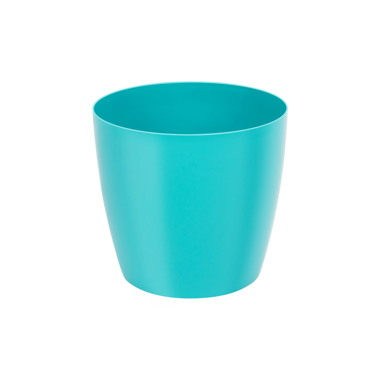 Classique luisant cache-pot LOBELIA, 16 cm, en turquoise Patrol