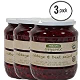 Poland Organic Cabbage & Beets Salad BUNDLE 3 Jars 24oz. EACH