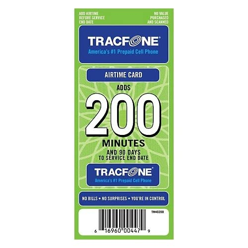 Tracfone Airtime Cards: Amazon.com