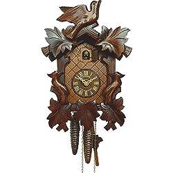 Cuckoo Clock 5 leaves, 3 birds