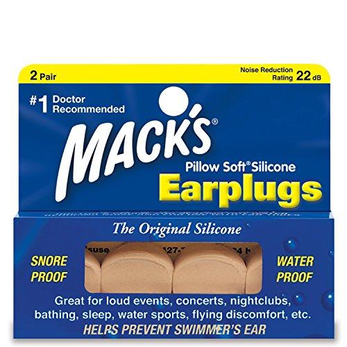 arplugs, Original Silicone, 2 pr (Foam Throat Protector)