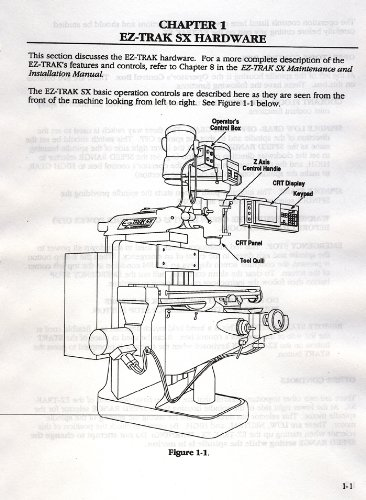 Photo Bridgeport EZ-TRAK SX Programming & Operations Manual
