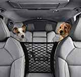DriveSound Dog Car Barrier Net Organizer Baby Storage Back Seat Stretchable Front Seat Pet Barrier Sedan SUV Minivan Pickup Truck – Drive Safe with Children and Pets For Sale