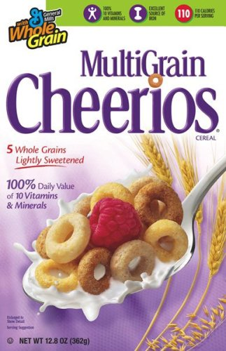 amazon com multi grain cheerios cereal 12 8 ounce box pack of 5