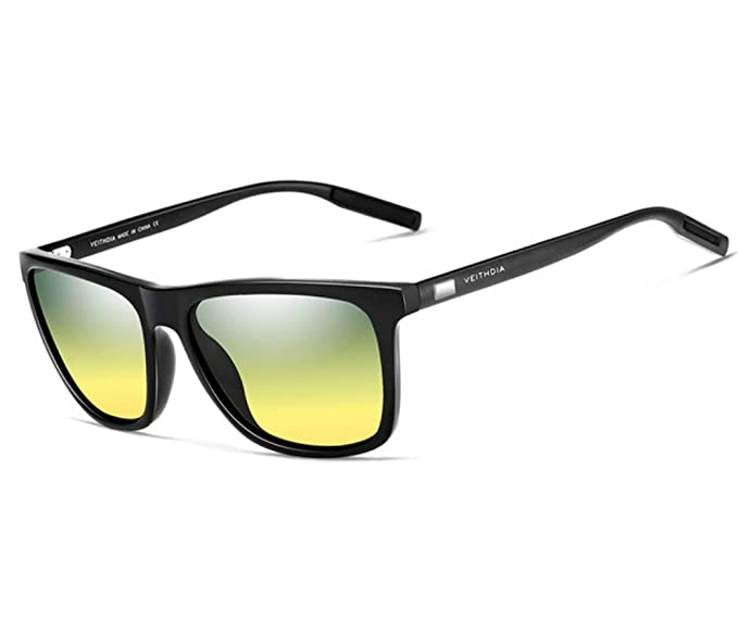 Gafas De Sol Espejo Polarizadas Elegantes HD, Gafas de Sol Gradiente Polarizadas, Gafas de