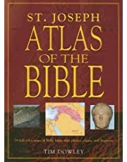 St. Joseph Atlas of the Bible: 79 Full-Color Maps of Bible Lands with Photos, Charts, and Diagrams