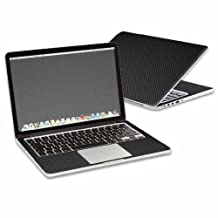 """Mightyskins Protective Skin Decal Cover for Apple MacBook Pro 13"""" Retina wrap sticker skins Carbon Fiber"""
