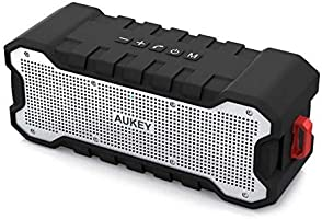AUKEY Bluetooth Speaker Dual-Driver 30-Hour Battery Life, Waterproof and Shock-Resistant, Enhanced Bass Portable...