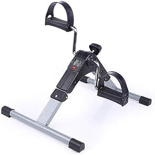 RXRENXIA Mini Exerciser Bike, Braccio Gamba Pedale Exerciser Fitness Ciclismo con Monitor LCD e Regolabile Resistenza Home Fitness Resistenza Ciclo Allenamento Allenamento