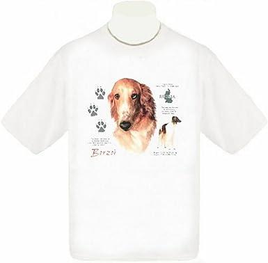 Mazoli Borzoi Cool Tshirt Borzoi Geometric Colorful Tee Shirt