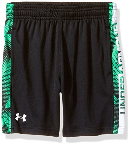 Under Armour Toddler Boys' Eliminator Short, Black/Green, 2T