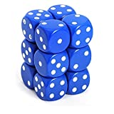 6-sided Dice: Opaque Blue by Chessex
