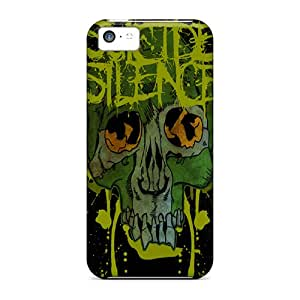 Scratch Protection Hard Cell-phone Case For Iphone 5c With Custom Beautiful Suicide Silence Image DannyLCHEUNG