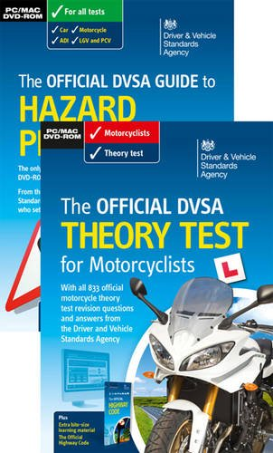 The official DVSA theory test for motorcyclists pack