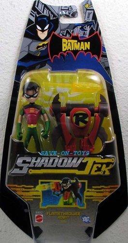 (The Batman Shadow Tek Ultra Action Figure Flamethrower Robin by The Batman)