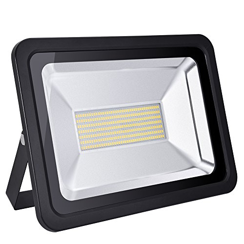 150w Led Flood Light Outdoor, IP65 Waterproof, led light bulbs High Power Equivalent, Super Bright Security Lights, Floodlight Landscape Wall Lights by Coolkun (Warm White, 150W)