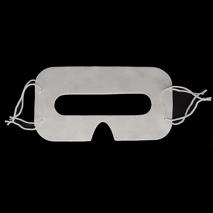 100 Pack. Máscara Facial de Ojos Higiénica: Amazon.es: Electrónica