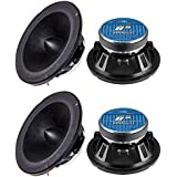 4) NEW AUDIOPIPE APMB-8BT 8 2000W Low/Mid Car Loudspeakers Speakers APMB8BT