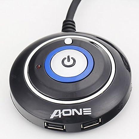 Desktop PC case Switch Dual USB Ports Power Reset button LED lights Audio port