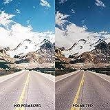 MYCOURAG Anti-Salt Polarized Replacement Lenses