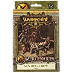 Privateer Press - Warmachine - Mercenary: Privateer Sea Dog Crew Box Model Kit 6
