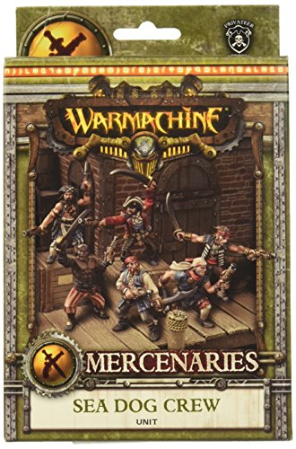 Privateer Press - Warmachine - Mercenary: Privateer Sea Dog Crew Box Model Kit 3