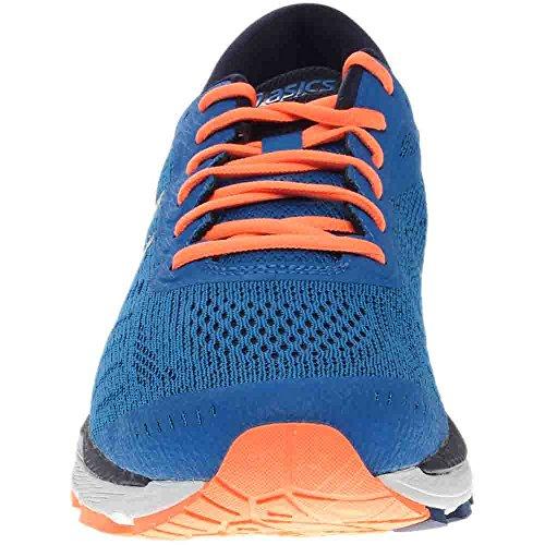 ASICS Men's Gel-Kayano 24 Running Shoe, Directoire Blue/Peacoat/Hot Orange, 12 Medium US by ASICS (Image #4)