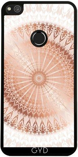 Funda de silicona para Huawei P8 Lite 2017 - Mandala De Rosa De Oro Blanco by Nina Baydur