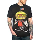 Skygraphx Mens Merica Mouse T-Shirt Black (XXXL)
