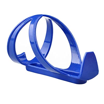 bestpriceam Water Bottle Holder Bicycle Cycling Mountain Road Bike Water Bottle Holder Cages Rack Mount (Blue) : Sports & Outdoors