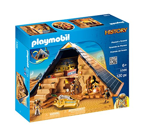 Playmobil Pharaoh's Pyramid is one of the top toys for boys age 6 to 8