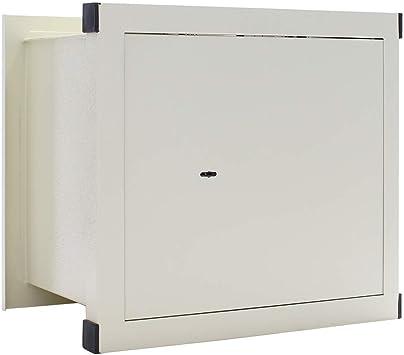 Caja Fuerte de Pared Rottner WNO-45 Cerradura con Llave: Amazon.es ...