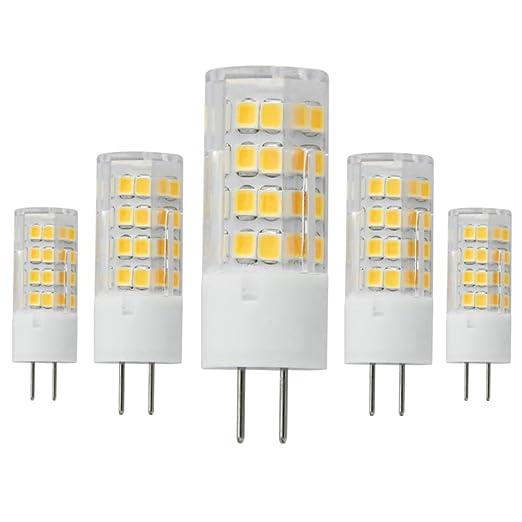 Gy6,35 Bombilla LED 5 W AC120 V bombillas halógenas equivalente 45 W, intensidad